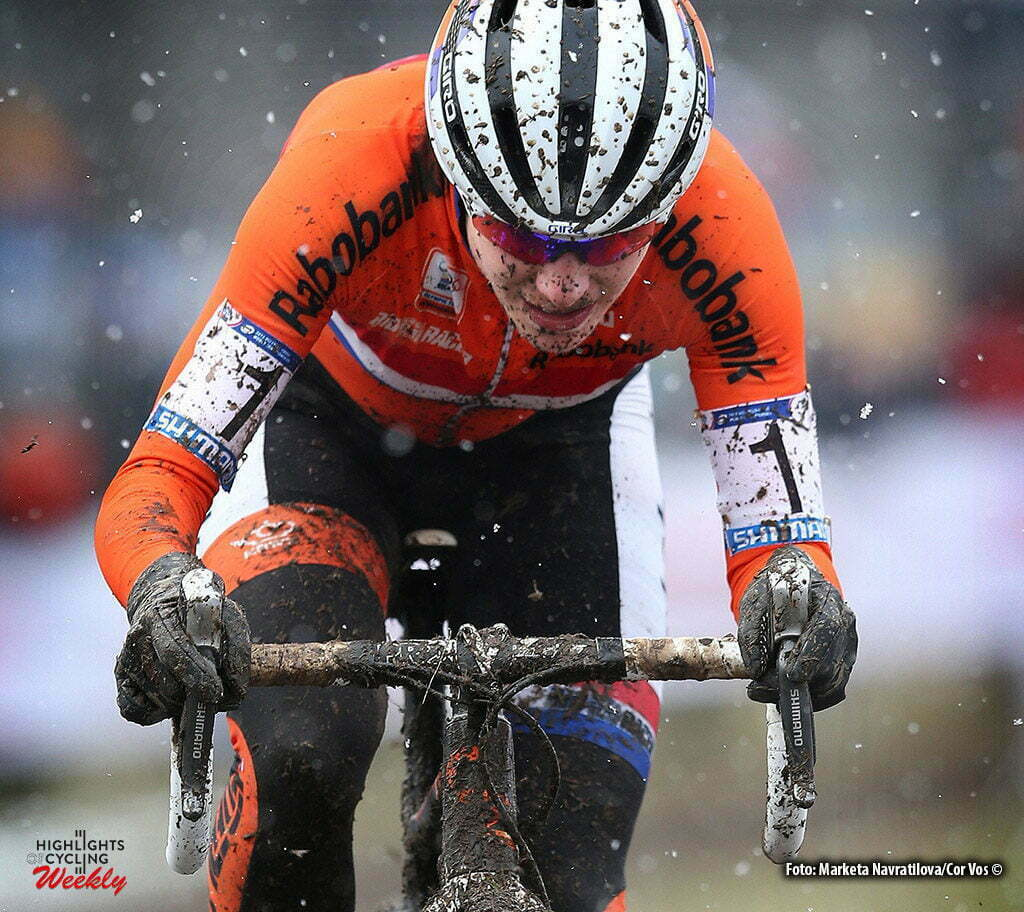 Tabor - Czech Republic - wielrennen - cycling - radsport - cyclisme - Marianne Vos of Rabobank Liv Women Cycling Team pictured during the Worldchampionships cyclocross 2015 women in Tabor, Czech Republic - photo Marketa Navratilova/Cor Vos © 2015