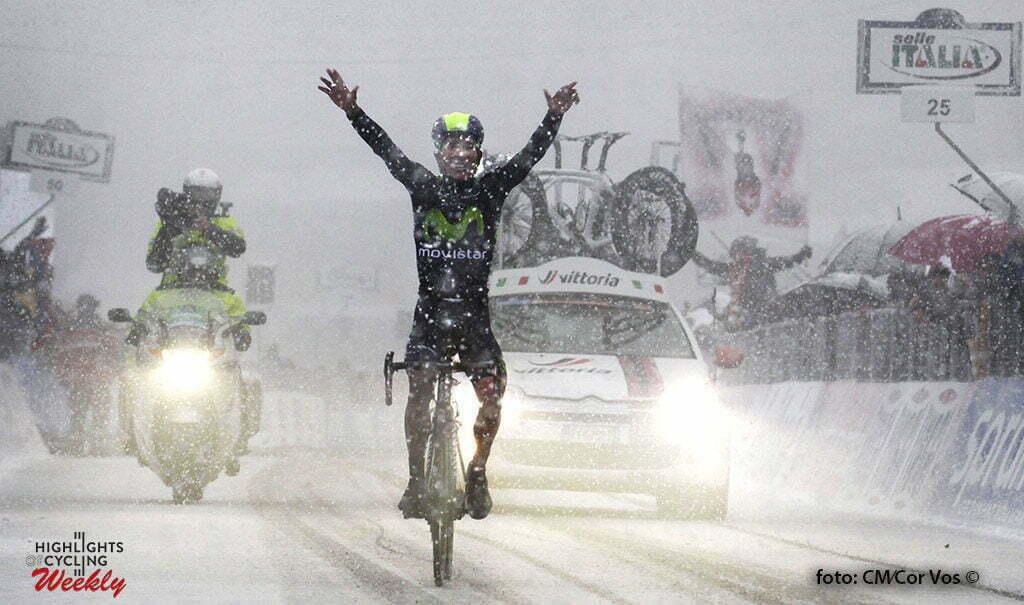 Terminillo - Itay - Nairo Alexander Quintana Rojas (Team Movistar) - foto Claudio Minardi/Cor Vos ©
