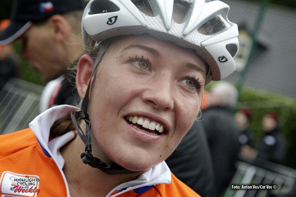 Huijbergen - Netherlands - wielrennen - cycling - radsport - cyclisme - De Boer Sophie of Kalas-NNOF Cycling Team pictured during the European Championships Cyclocross for women in Huijbergen, the Netherlands - photo Anton Vos/Cor Vos © 2015