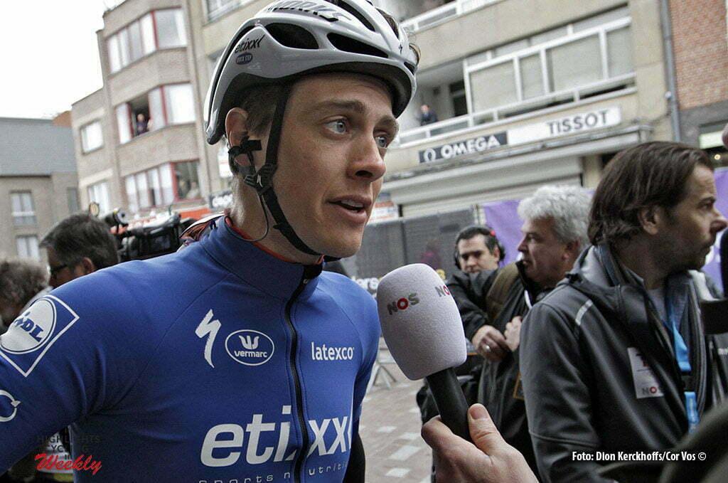 Wevelgem- Belgium - wielrennen - cycling - radsport - cyclisme - Niki Terpstra (Netherlands / Team Etixx - Quick Step) pictured during Gent - Wevelgem 2016 World Tour Elite - photo Dion Kerckhoffs/Cor Vos © 2016 HQ