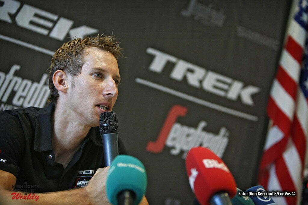 Bern - Suisse - wielrennen - cycling - radsport - cyclisme - persconferentie - press conference Bauke Mollema (NED-Trek Segafredo) pictured during Restday 2 of the 2016 Tour de France in Bern, Switserland - photo Dion Kerckhoffs/Tim van Wichelen/Cor Vos © 2016