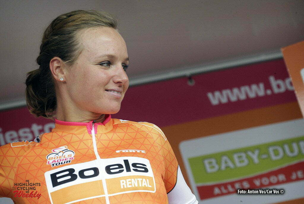 Tiel - Netherlands - wielrennen - cycling - radsport - cyclisme - Blaak Chantal (Netherlands / Boels Dolmans Cycling Team) pictured during the Boels Ladies Tour stage 5 from Tiel to Tiel - photo Anton Vos/Cor Vos © 2016