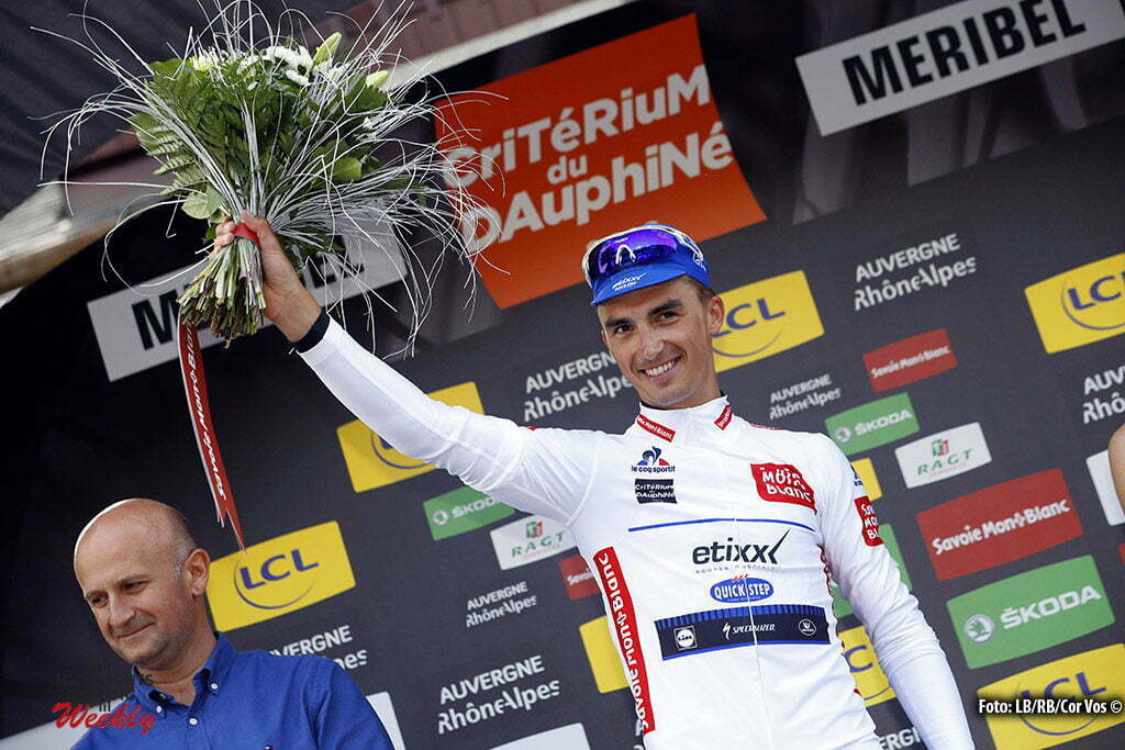 Méribel - France - wielrennen - cycling - radsport - cyclisme - Julian Alaphilippe (France / Team Etixx - Quick Step) pictured during stage 6 of the Critérium du Dauphiné 2016 from La Rochette to Méribel (141 KM) - photo LB/RB/Cor Vos © 2016