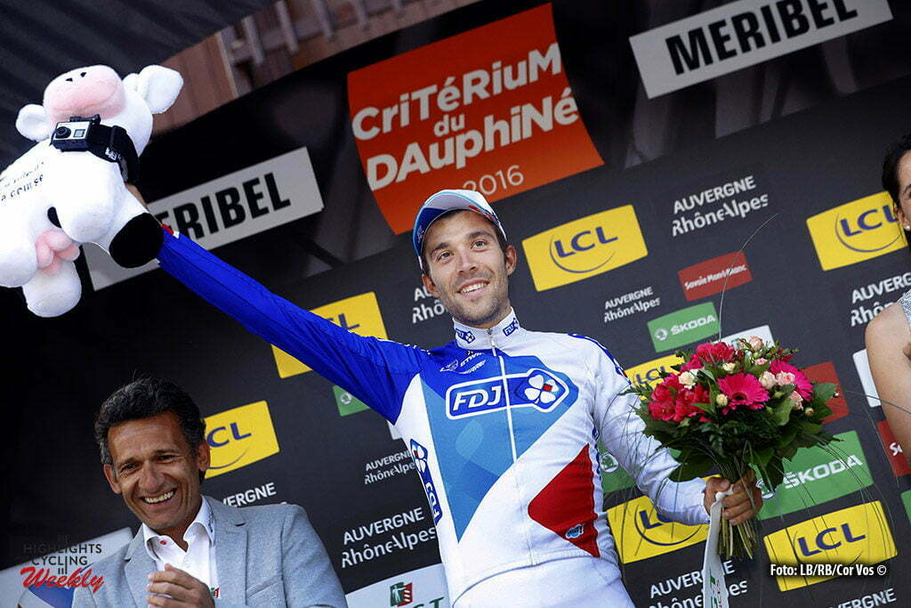 Méribel - France - wielrennen - cycling - radsport - cyclisme - Thibaut Pinot (FDJ) pictured during stage 6 of the Critérium du Dauphiné 2016 from La Rochette to Méribel (141 KM) - photo LB/RB/Cor Vos © 2016