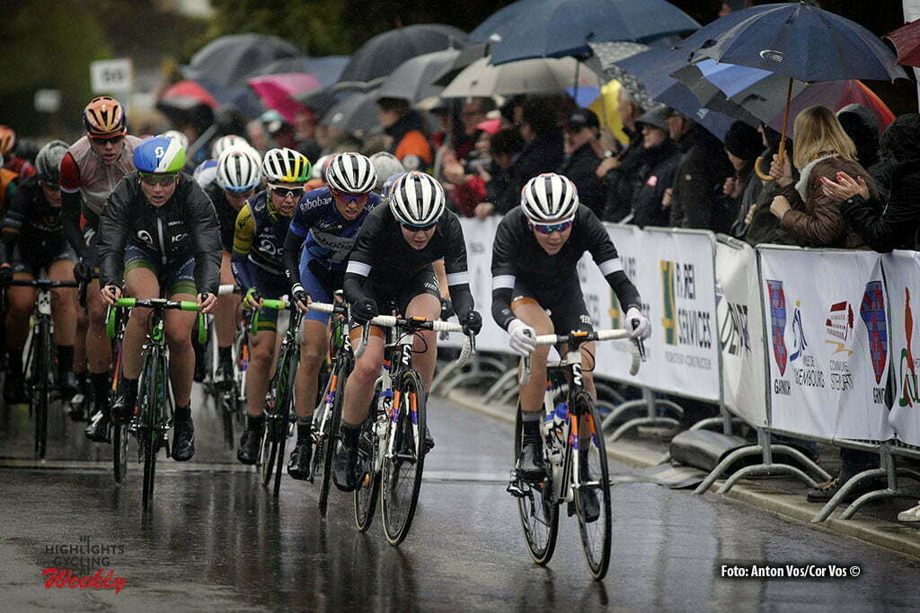 Steinfort - Luxembourg - wielrennen - cycling - radsport - cyclisme - Niewiadoma Katarzyna Kasia (Poland / Rabobank Liv Women Cycling Team) Van der Breggen Anna (Netherlands / Rabobank Liv Women Cycling Team) - De Jong Thalita (Netherlands / Rabobank Liv Women Cycling Team) pictured during Festival Elsy Jacobs 2016 - stage 1 - womens cyclingrace in Steinfort - photo Anton Vos/Cor Vos © 2016