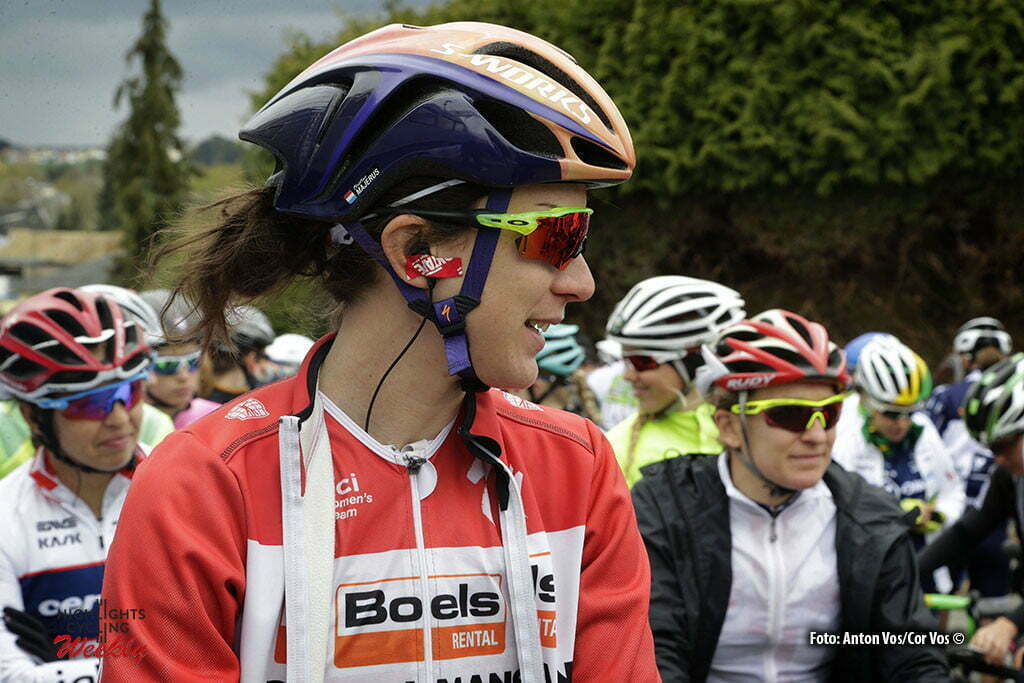 Steinfort - Luxembourg - wielrennen - cycling - radsport - cyclisme - Majerus Christine (Luxembourg / Boels Dolmans Cycling Team) pictured during Festival Elsy Jacobs 2016 - stage 1 - womens cyclingrace in Steinfort - photo Anton Vos/Cor Vos © 2016