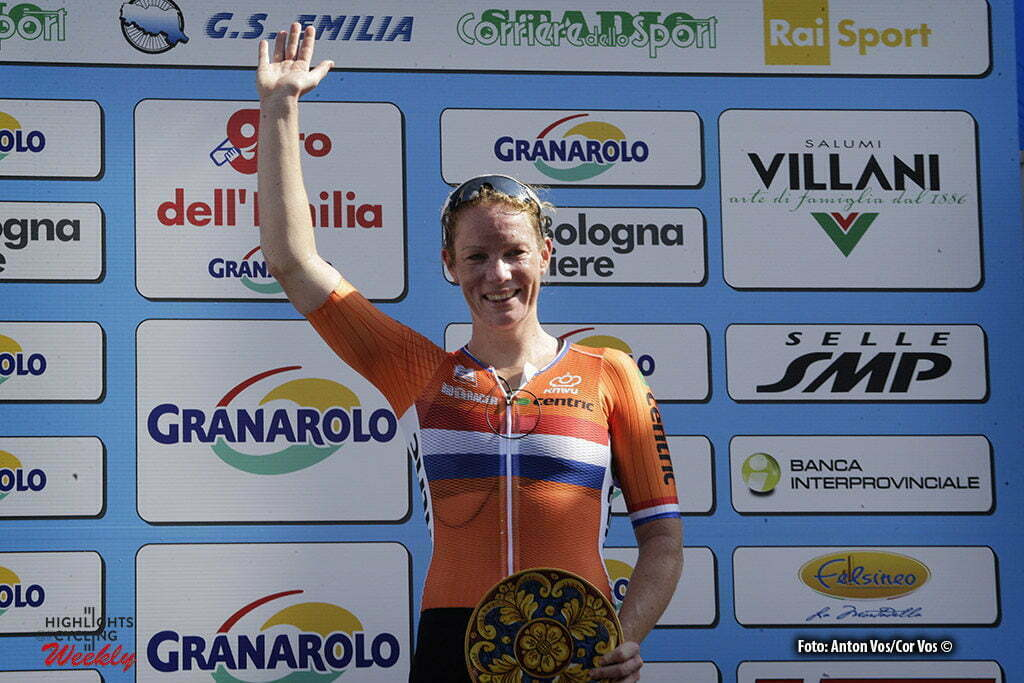 Bologna San Luca - Italy - wielrennen - cycling - radsport - cyclisme - Wild Kirsten (Netherlands / Hitec Products) pictured during Giro dell' Emilia Internazionale Donne Elite - photo Anton Vos/Cor Vos © 2016