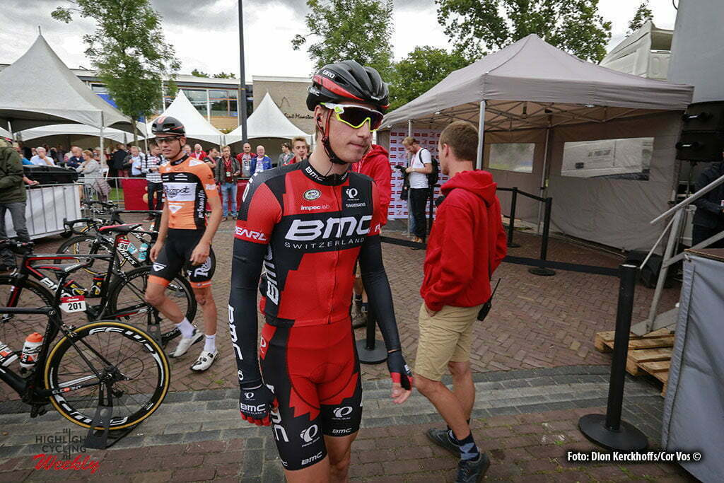 Bolsward - Netherlands - wielrennen - cycling - radsport - cyclisme - Taylor Phinney (USA / BMC Racing Team) pictured during Eneco Tour stage -1 - UCI World Tour) from Bolsward to Bolsward - photo Dion Kerckhoffs/Cor Vos © 2016 motard Jos Verschuur
