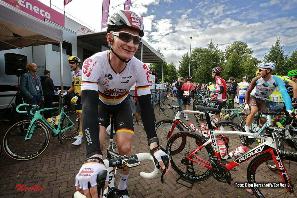 Bolsward - Netherlands - wielrennen - cycling - radsport - cyclisme - Andre Greipel (Germany / Team Lotto Soudal) pictured during Eneco Tour stage -1 - UCI World Tour) from Bolsward to Bolsward - photo Dion Kerckhoffs/Cor Vos © 2016 motard Jos Verschuur