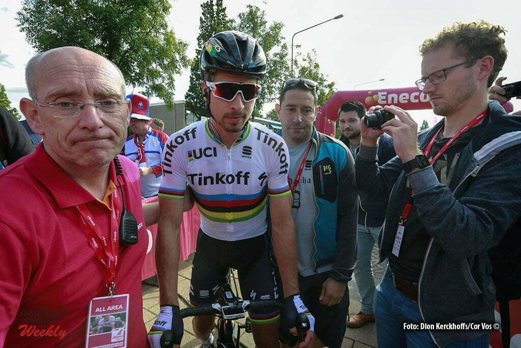 Bolsward - Netherlands - wielrennen - cycling - radsport - cyclisme - Peter Sagan (Slowakia / Team Tinkoff - Tinkov) pictured during Eneco Tour stage -1 - UCI World Tour) from Bolsward to Bolsward - photo Dion Kerckhoffs/Cor Vos © 2016 motard Jos Verschuur