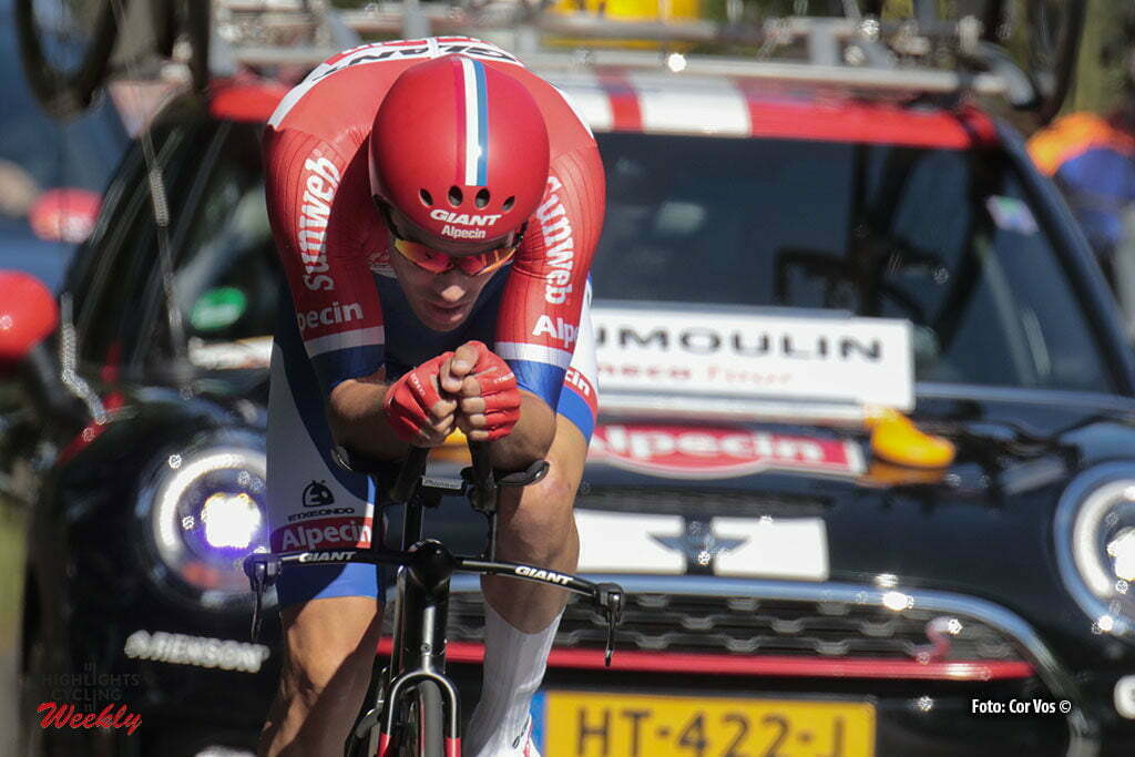 Breda - Netherlands - wielrennen - cycling - radsport - cyclisme - Tom Dumoulin (Netherlands / Team Giant - Alpecin) pictured during Eneco Tour stage -2 - UCI World Tour) from Breda to Breda - ITT Time Trial Individual - photo Davy Rietbergen/Anton Vos/Cor Vos © 2016