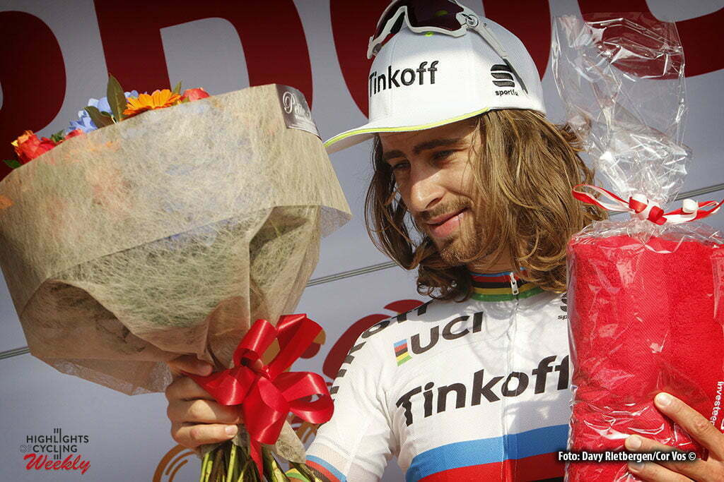 Ardooie - Belgium - wielrennen - cycling - radsport - cyclisme - Peter Sagan (Slowakia / Team Tinkoff - Tinkov) pictured during Eneco Tour stage -3 - UCI World Tour) from Blankenberge to Ardooie - photo Davy Rietbergen/Cor Vos © 2016