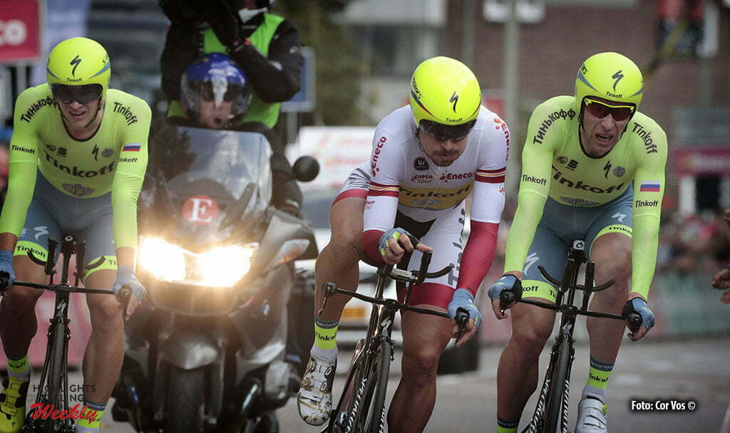 Sittard-Geleen - Netherlands - wielrennen - cycling - radsport - cyclisme - Peter Sagan (Slowakia / Team Tinkoff - Tinkov) pictured during Eneco Tour stage -5 - UCI World Tour) from Sittard- Sittard-Geleen to Sittard-Geleen - TTT Team Time Trial - photo Davy Rietbergen/Miwa iijima//Cor Vos © 2016
