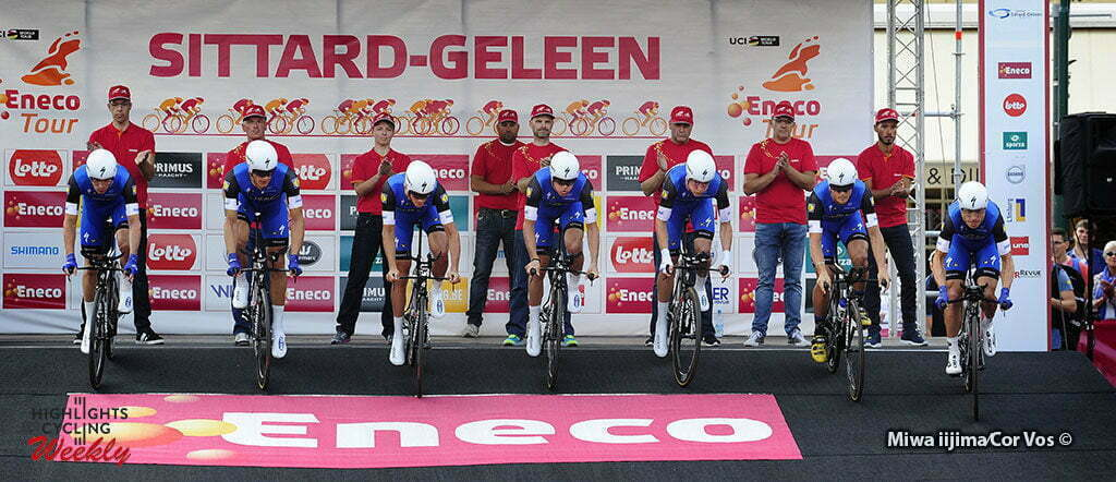 Sittard-Geleen - Netherlands - wielrennen - cycling - radsport - cyclisme - team Etixx - Quick Step pictured during Eneco Tour stage -5 - UCI World Tour) from Sittard- Sittard-Geleen to Sittard-Geleen - TTT Team Time Trial - photo Davy Rietbergen/Miwa iijima//Cor Vos © 2016