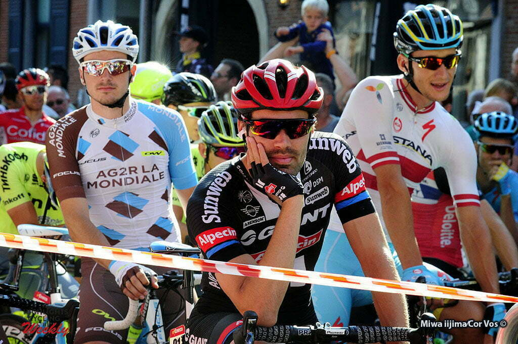 Geraardsbergen - Belgium - wielrennen - cycling - radsport - cyclisme - Tom Dumoulin (Netherlands / Team Giant - Alpecin) pictured during Eneco Tour stage -7 - UCI World Tour) from Bornem to Geraardsbergen - photo Miwa iijimaCor V/os © 2016