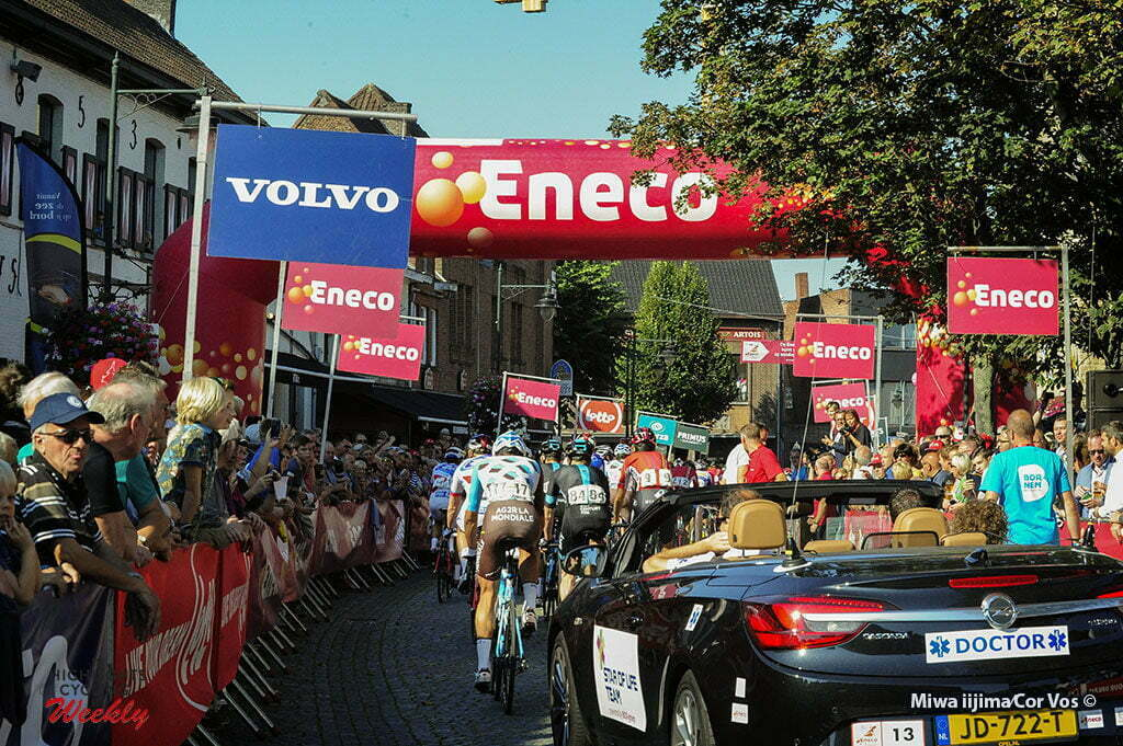 Geraardsbergen - Belgium - wielrennen - cycling - radsport - cyclisme - illustration - sfeer - illustratie pictured during Eneco Tour stage -7 - UCI World Tour) from Bornem to Geraardsbergen - photo Miwa iijimaCor V/os © 2016