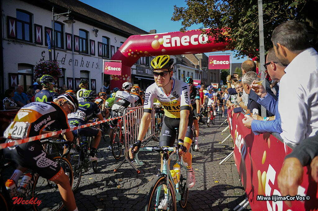 Geraardsbergen - Belgium - wielrennen - cycling - radsport - cyclisme - Wilco Kelderman (Netherlands / Team LottoNL - Jumbo) pictured during Eneco Tour stage -7 - UCI World Tour) from Bornem to Geraardsbergen - photo Miwa iijimaCor V/os © 2016