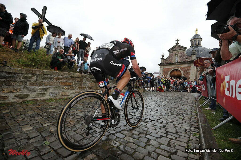 Geraardsbergen - Belgium - wielrennen - cycling - radsport - cyclisme - illustration - sfeer - illustratie Dumoulin Tom (Netherlands / Team Giant - Alpecin) pictured during Eneco Tour stage -7 - UCI World Tour) from Bornem to Geraardsbergen - photo Tim van Wichelen/Cor Vos © 2016