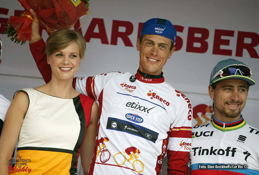 Geraardsbergen - Belgium - wielrennen - cycling - radsport - cyclisme - miss - rondemiss - missssssss - Niki Terpstra (Netherlands / Team Etixx - Quick Step) - Peter Sagan (Slowakia / Team Tinkoff - Tinkov) pictured during Eneco Tour stage -7 - UCI World Tour) from Bornem to Geraardsbergen - photo Dion Kerckhoffs/Cor Vos © 2016