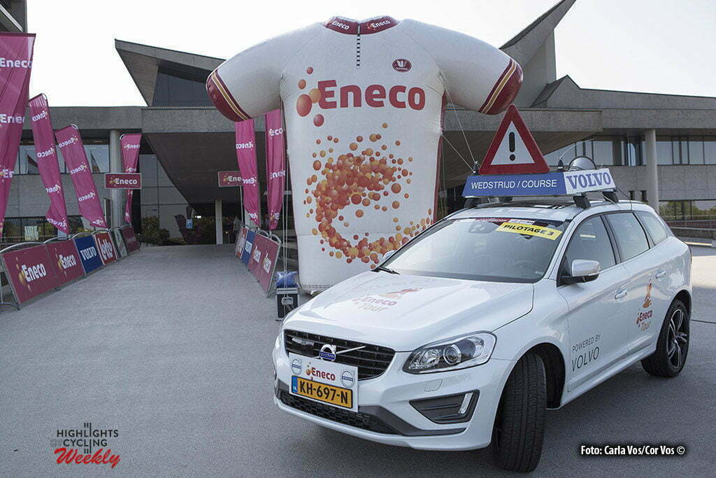 's Hertogenbosch - Netherlands - wielrennen - cycling - radsport - cyclisme - Volvo official car pictured during Eneco Tour presse-conference - UCI World Tour) in 's Hertogenbosch, Netherlands - photo Carla Vos/Cor Vos © 2016