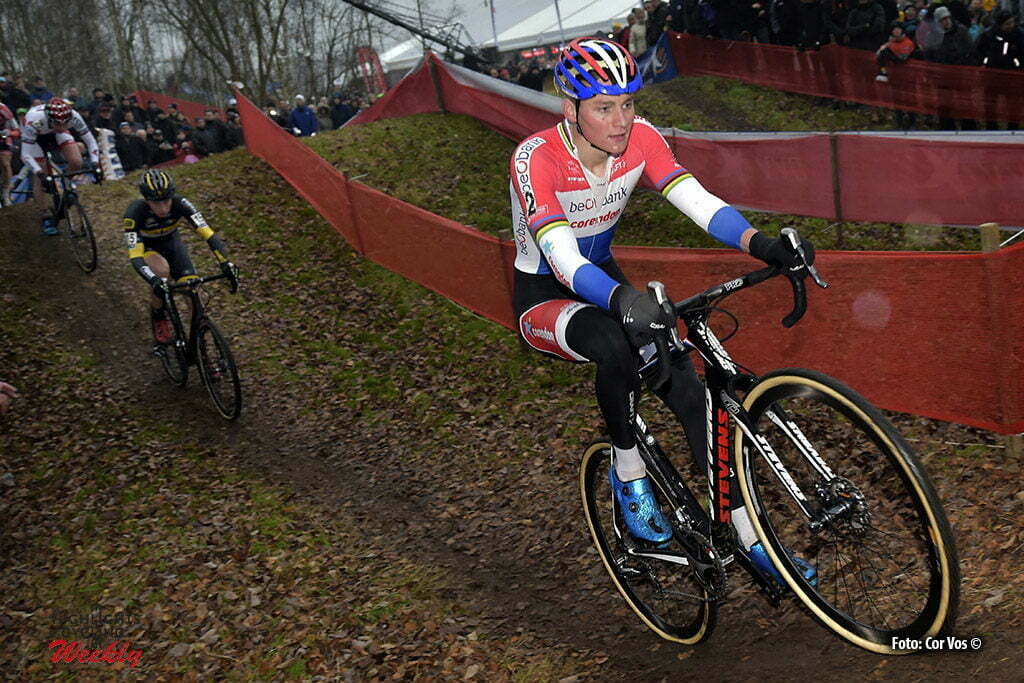 Essen - Belgium - wielrennen - cycling - radsport - cyclisme - Van Der Poel Mathieu (NED) of Beobank - Corendon pictured during stage 4 of the DVV Verzekeringen Trofee Essen cyclocross race on December 10, 2016 in Essen, Belgium - photo Cor Vos © 2016