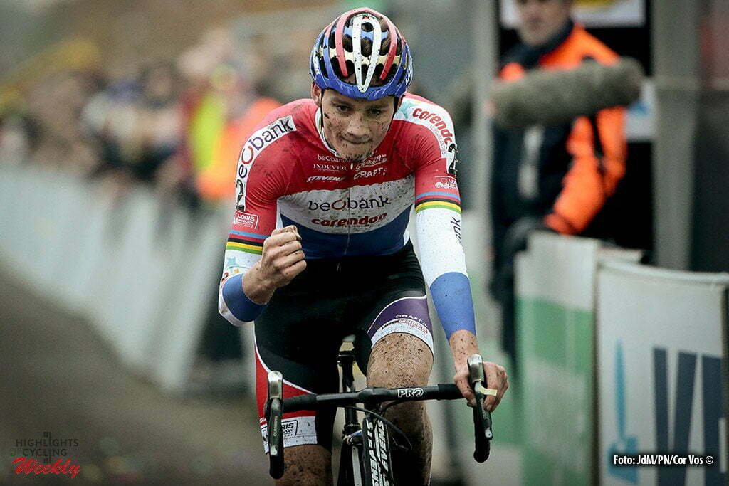 Gavere - Belgium - wielrennen - cycling - radsport - cyclisme - Van Der Poel Mathieu (NED) of Beobank-Corendon pictured during the Hansgrohe Superprestige Men Elite cyclo-cross race in Gavere, Belgium - photo JdM/PN/Cor Vos © 2016