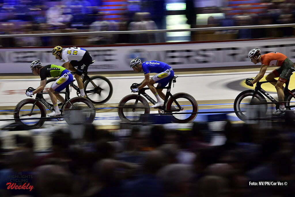 Gent - Belgium - wielrennen - cycling - radsport - cyclisme - Moreno De Pauw (BEL) (C) pictured during the last and final day of the 76th Lotto Six Days Vlaanderen on November 15, 2016 at Het Kuipke velodrome in Gent, Belgium - photo NV/PN/Cor Vos © 2016