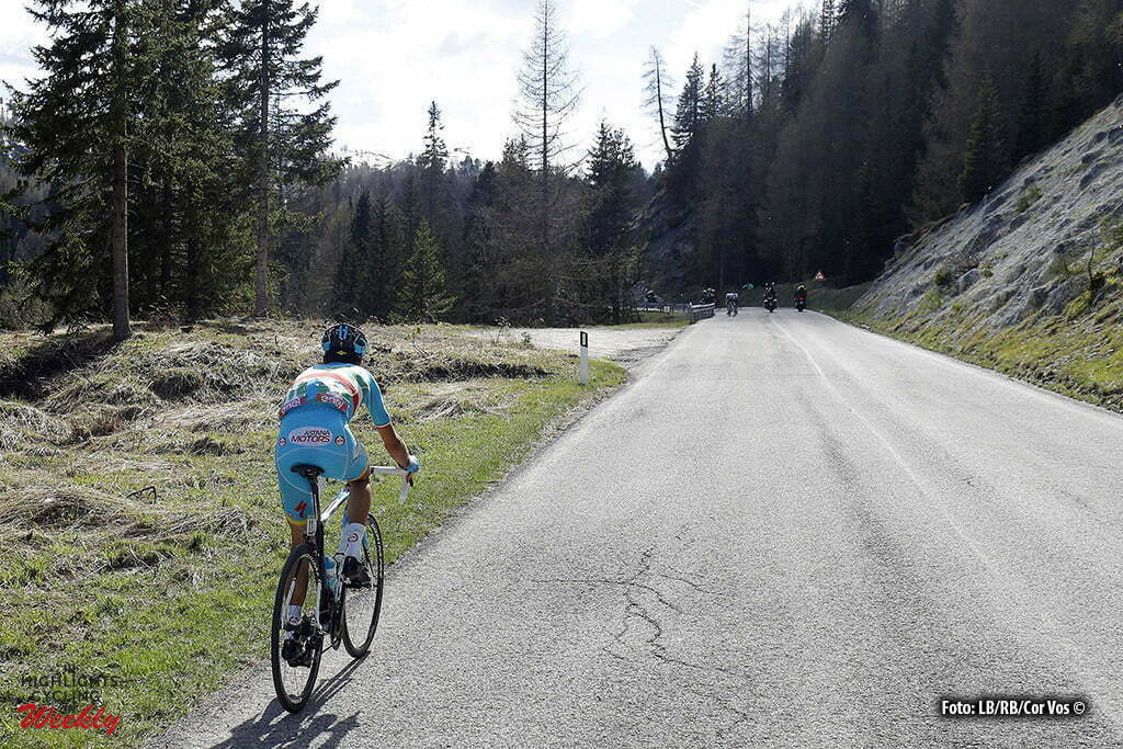 Corvara - Italy - wielrennen - cycling - radsport - cyclisme - Nibali Vincenzo (Italie / Team Astana) pictured during stage 14 of the 99th Giro d'Italia 2016 from Alpago to Corvara 210 km - foto LB/RB/Cor Vos © 2016