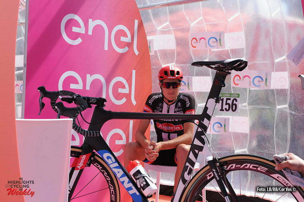 Alpe di Siusi - Italy - wielrennen - cycling - radsport - cyclisme -Tobias Ludvigsson (Schweden / Team Giant - Alpecin) pictured during stage 14 of the 99th Giro d'Italia 2016 from Castelrotto to Alpe di Siusi a Mountain Time Trial individual - foto Miwa IIjima/Cor Vos © 2016
