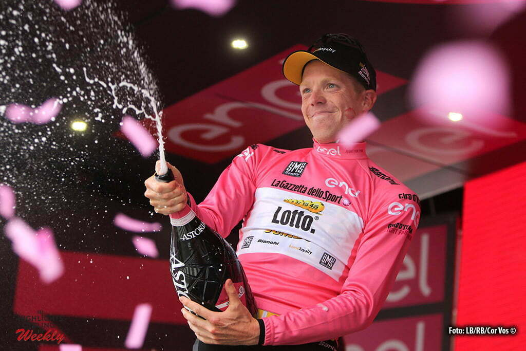 Andalo - Italy - wielrennen - cycling - radsport - cyclisme - Steven Kruijswijk (Netherlands / Team LottoNL - Jumbo) pictured during stage 16 of the 99th Giro d'Italia 2016 from Bressanone - Andalo 132 km - foto LB/RB/Cor Vos © 2016