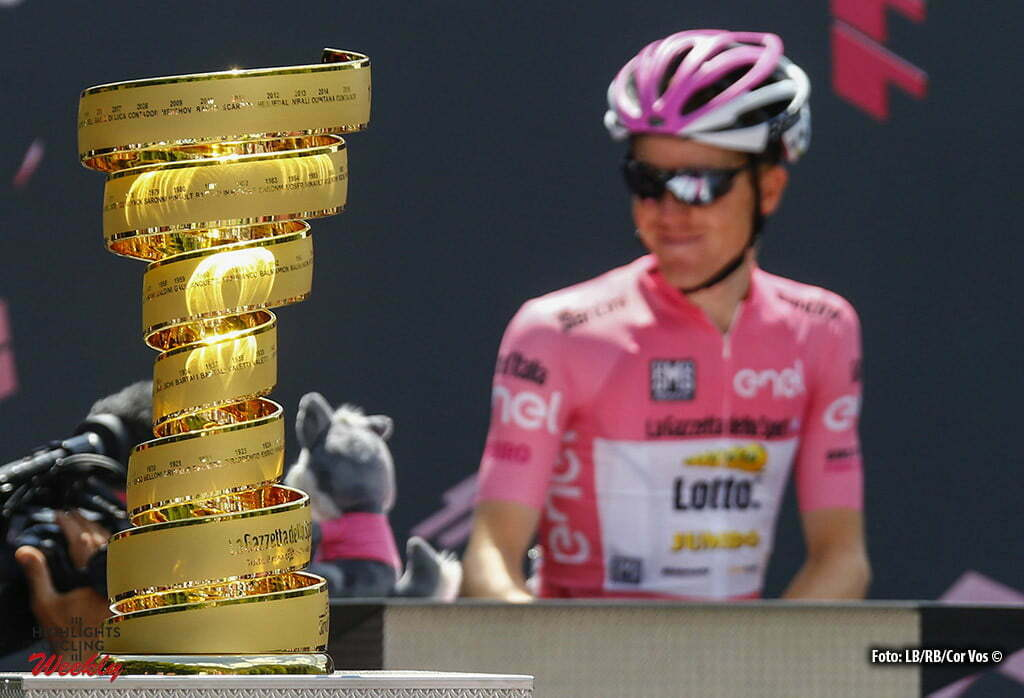Cassano d'Adda - Italy - wielrennen - cycling - radsport - cyclisme - ill Endless Trophee Steven Kruijswijk (Netherlands / Team LottoNL - Jumbo) pictured during stage 17 of the 99th Giro d'Italia 2016 from Molveno - Cassano d'Adda 196 km - foto LB/RB/Cor Vos © 2016