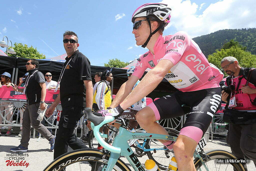 Cassano d'Adda - Italy - wielrennen - cycling - radsport - cyclisme - Steven Kruijswijk (Netherlands / Team LottoNL - Jumbo) pictured during stage 17 of the 99th Giro d'Italia 2016 from Molveno - Cassano d'Adda 196 km - foto LB/RB/Cor Vos © 2016