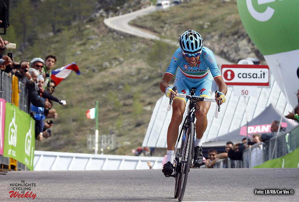 Sant'Anna di Vinadio - Italy - wielrennen - cycling - radsport - cyclisme - Vincenzo Nibali (Astana) pictured during stage 20 of the 99th Giro d'Italia 2016 from Guillestre to Sant'Anna di Vinadio 134 km - foto LB/RB/Cor Vos © 2016