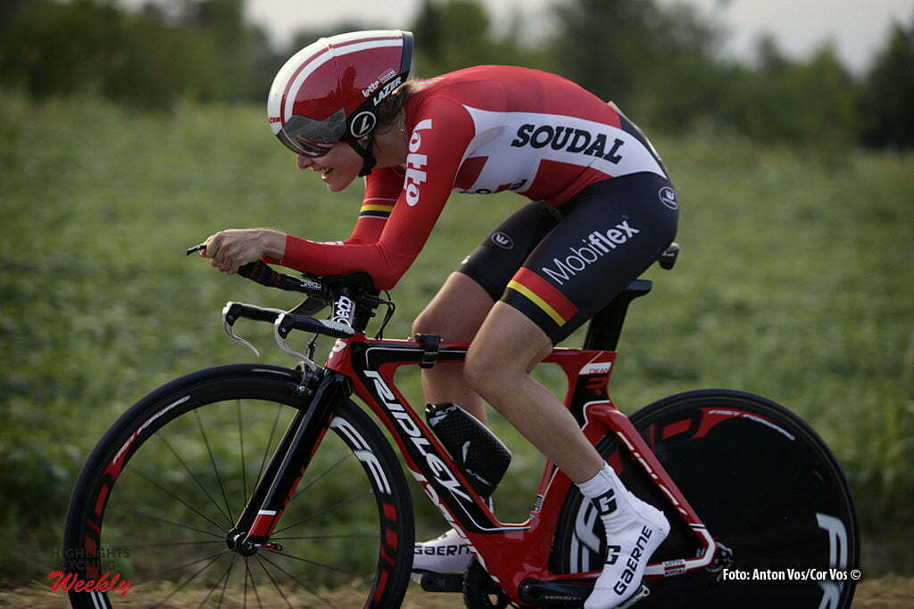 Gaiarine - Italy - wielrennen - cycling - radsport - cyclisme - De Vuyst Sofie (Belgium / Lotto Soudal Ladies) pictured during the prologue of the Giro d'Italia Internazionale Femminile 2016 (2.WWT) - ITT Time Trial In individual - photo Anton Vos/Cor Vos © 2016