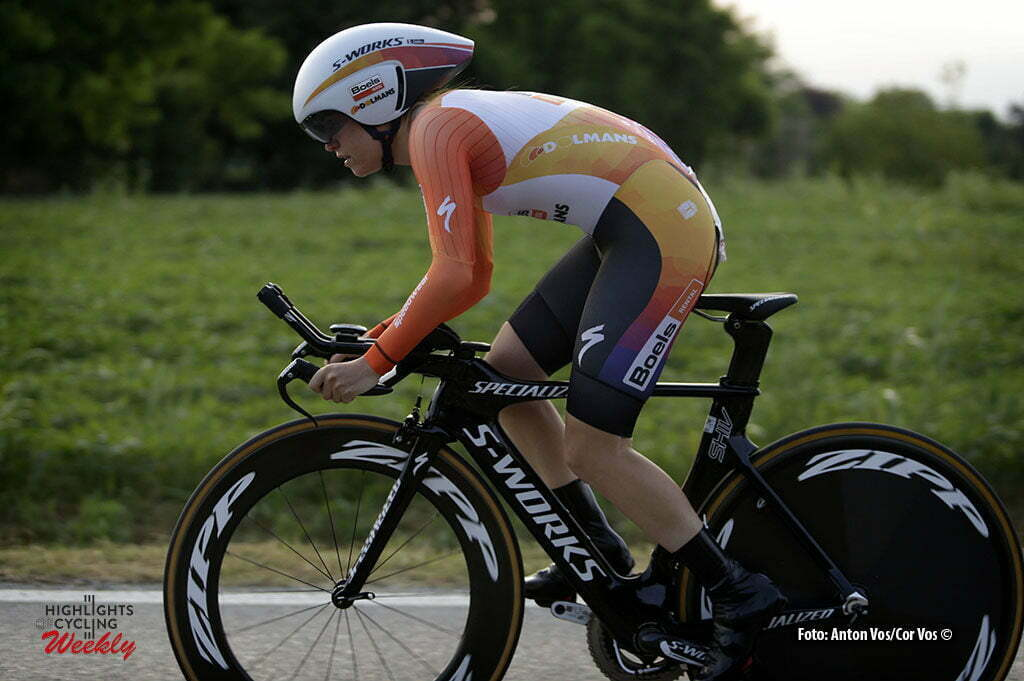 Gaiarine - Italy - wielrennen - cycling - radsport - cyclisme - Canuel Karol-Ann (Canada / Boels Dolmans Cycling Team) pictured during the prologue of the Giro d'Italia Internazionale Femminile 2016 (2.WWT) - ITT Time Trial In individual - photo Anton Vos/Cor Vos © 2016