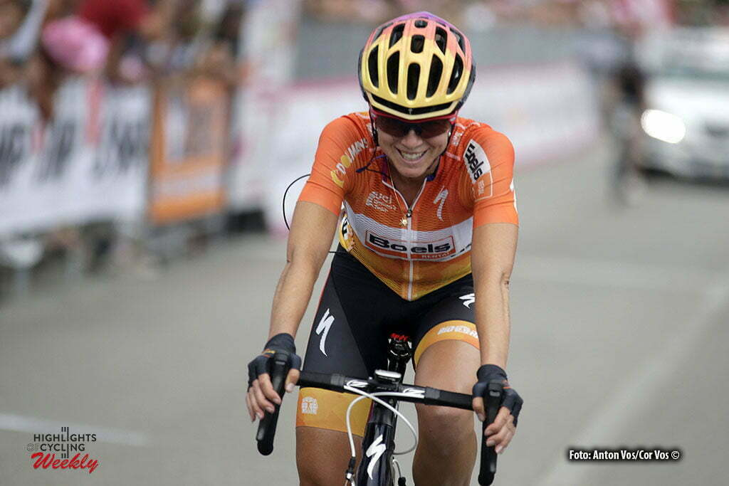 San Fior - Italy - wielrennen - cycling - radsport - cyclisme - Stevens Evelyn (USA / Boels Dolmans Cycling Team) pictured during stage 1 of the Giro d'Italia Internazionale Femminile 2016 (2.WWT) from Gaiarine to San Fior - photo Anton Vos/Cor Vos © 2016