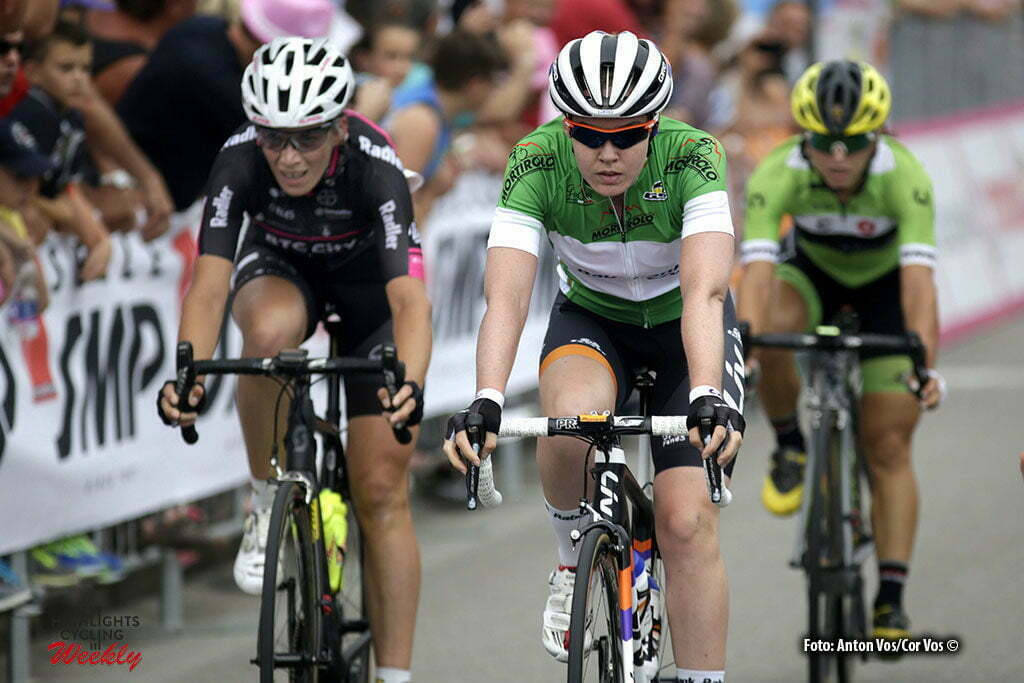 San Fior - Italy - wielrennen - cycling - radsport - cyclisme - Van der Breggen Anna (Netherlands / Rabobank Liv Women Cycling Team) pictured during stage 1 of the Giro d'Italia Internazionale Femminile 2016 (2.WWT) from Gaiarine to San Fior - photo Anton Vos/Cor Vos © 2016