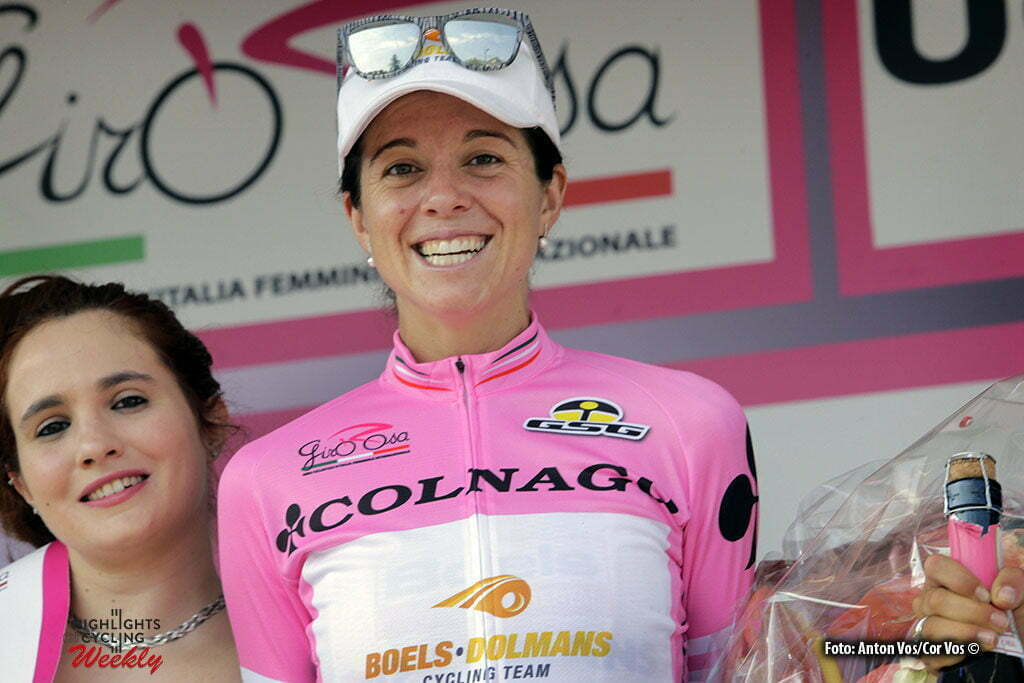 Lendinara - Italy - wielrennen - cycling - radsport - cyclisme- Stevens Evelyn (USA / Boels Dolmans Cycling Team) pictured during stage 3 of the Giro d'Italia Internazionale Femminile 2016 (2.WWT) from Montagnana to Lendinara - photo Anton Vos/Cor Vos © 2016