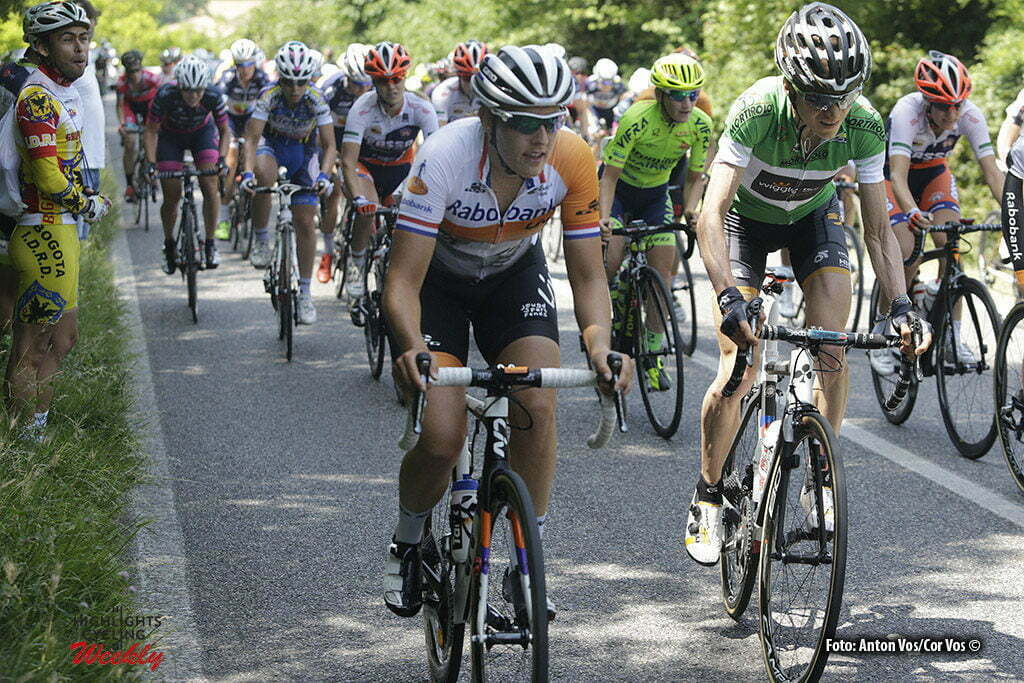 Lendinara - Italy - wielrennen - cycling - radsport - cyclisme- Brand Lucinda (Netherlands / Rabobank Liv Women Cycling Team) - Abbott Mara (USA / Wiggle High5) pictured during stage 3 of the Giro d'Italia Internazionale Femminile 2016 (2.WWT) from Montagnana to Lendinara - photo Anton Vos/Cor Vos © 2016