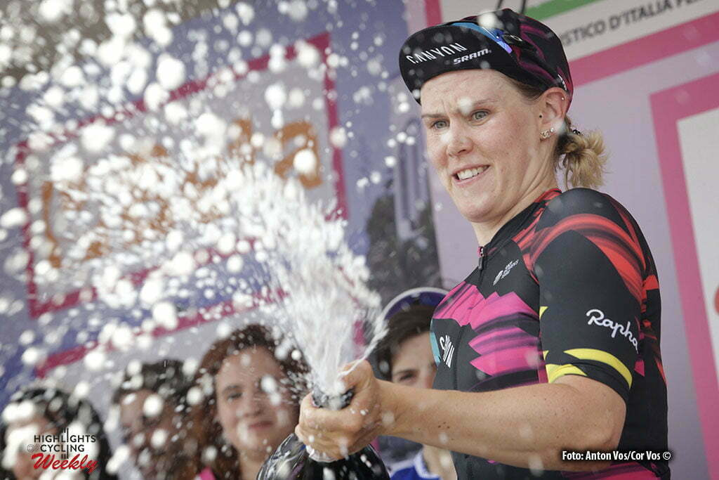 Lovere - Italy - wielrennen - cycling - radsport - cyclisme - Cromwell Tiffany (Australia / Canyon Sram Racing) pictured during stage 4 of the Giro d'Italia Internazionale Femminile 2016 (2.WWT) from Costa Volpino to Lovere - photo Anton Vos/Cor Vos © 2016