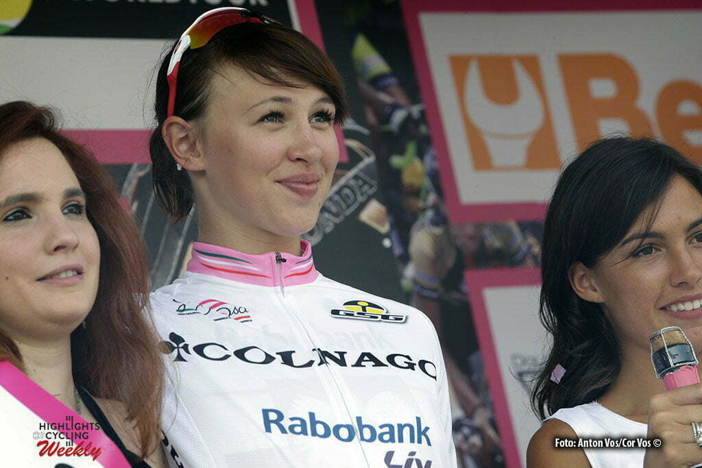 Lovere - Italy - wielrennen - cycling - radsport - cyclisme - Niewiadoma Katarzyna Kasia (Poland / Rabobank Liv Women Cycling Team) pictured during stage 4 of the Giro d'Italia Internazionale Femminile 2016 (2.WWT) from Costa Volpino to Lovere - photo Anton Vos/Cor Vos © 2016