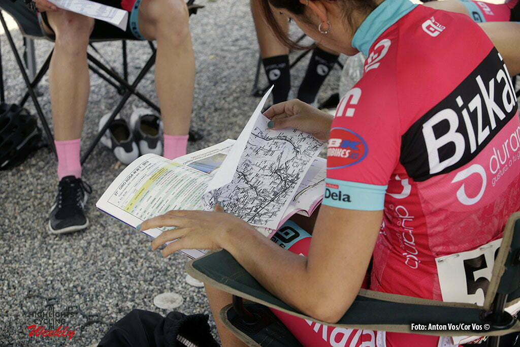 Lovere - Italy - wielrennen - cycling - radsport - cyclisme - illustration - sfeer - illustratie Lekuona Etxebeste Lierni (Spain / Bizkaia Durango) pictured during stage 4 of the Giro d'Italia Internazionale Femminile 2016 (2.WWT) from Costa Volpino to Lovere - photo Anton Vos/Cor Vos © 2016