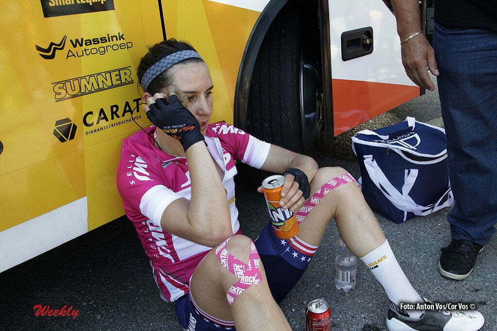 Alassio/Madonna della Guardia - Italy - wielrennen - cycling - radsport - cyclisme - Guarnier Megan (USA / Boels Dolmans Cycling Team) pictured during stage 6 of the Giro d'Italia Internazionale Femminile 2016 (2.WWT) from Andora to Alassio/Madonna della Guardia - photo Anton Vos/Cor Vos © 2016