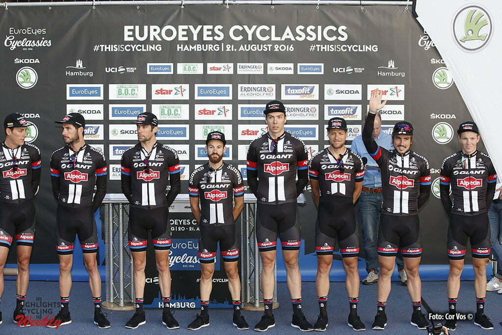 Hamburg - Germany - wielrennen - cycling - radsport - cyclisme - Team Giant - Alpecin pictured during the Euro Eyes Cyclassics Hamburg 2016 - photo HR/Cor Vos © 2016