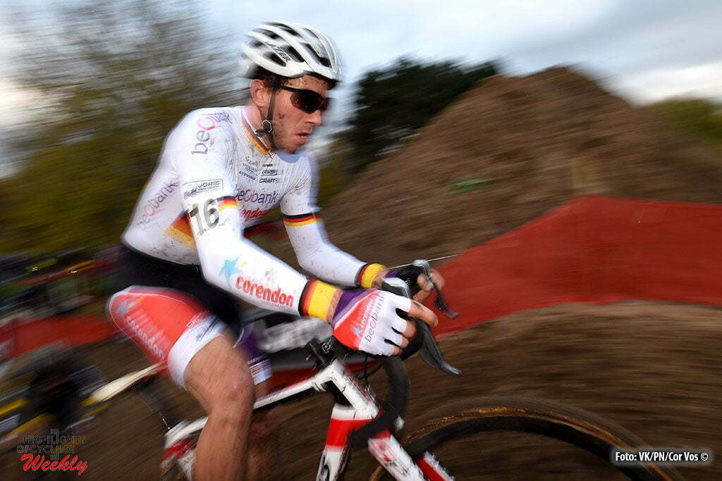 Hasselt - Belgium - wielrennen - cycling - radsport - cyclisme - Walsleben Philipp (GER) of Beobank - Corendon pictured during the men's elite Soudal Classic GP cyclocross race Grote Prijs on November 19, 2016 in Hasselt, Belgium, 19/11/2016 - photo VKPN/Cor Vos © 2016