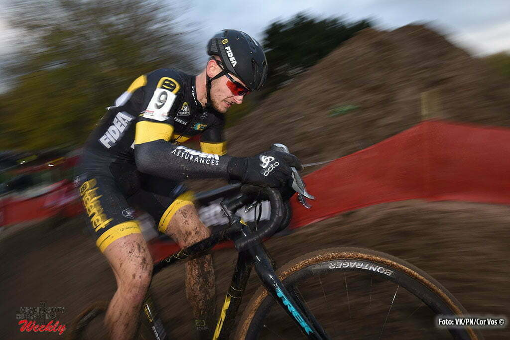 Hasselt - Belgium - wielrennen - cycling - radsport - cyclisme - Van Kessel Corne (NED) of Telenet - Fidea Lions pictured during the men's elite Soudal Classic GP cyclocross race Grote Prijs on November 19, 2016 in Hasselt, Belgium, 19/11/2016 - photo VKPN/Cor Vos © 2016