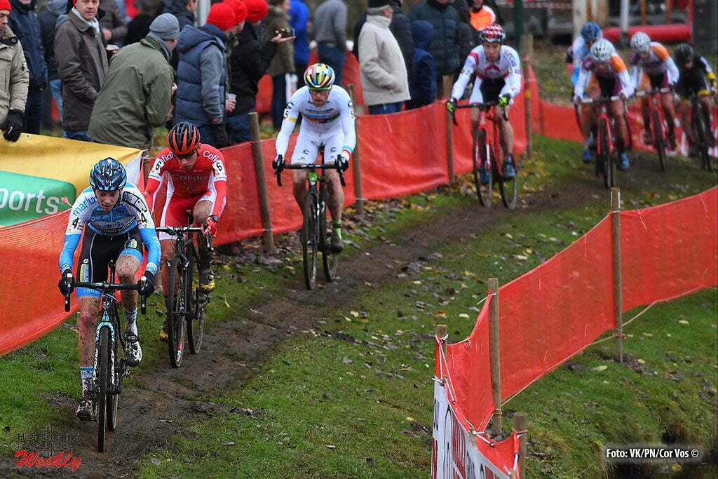 Hasselt - Belgium - wielrennen - cycling - radsport - cyclisme - Vanthourenhout Michael (BEL) of Marlux - Napoleongames pictured during the men's elite Soudal Classic GP cyclocross race Grote Prijs on November 19, 2016 in Hasselt, Belgium, 19/11/2016 - photo VKPN/Cor Vos © 2016