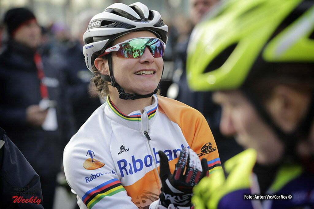 Heusden - Zolder - Belgium - wielrennen - cycling - radsport - cyclisme - Vos Marianne (Netherlands / Rabobank Liv Women Cycling Team) pictured during the Worldcup Cyclocross for women in Zolder, Belgium - photo Anton Vos/Cor Vos © 2016