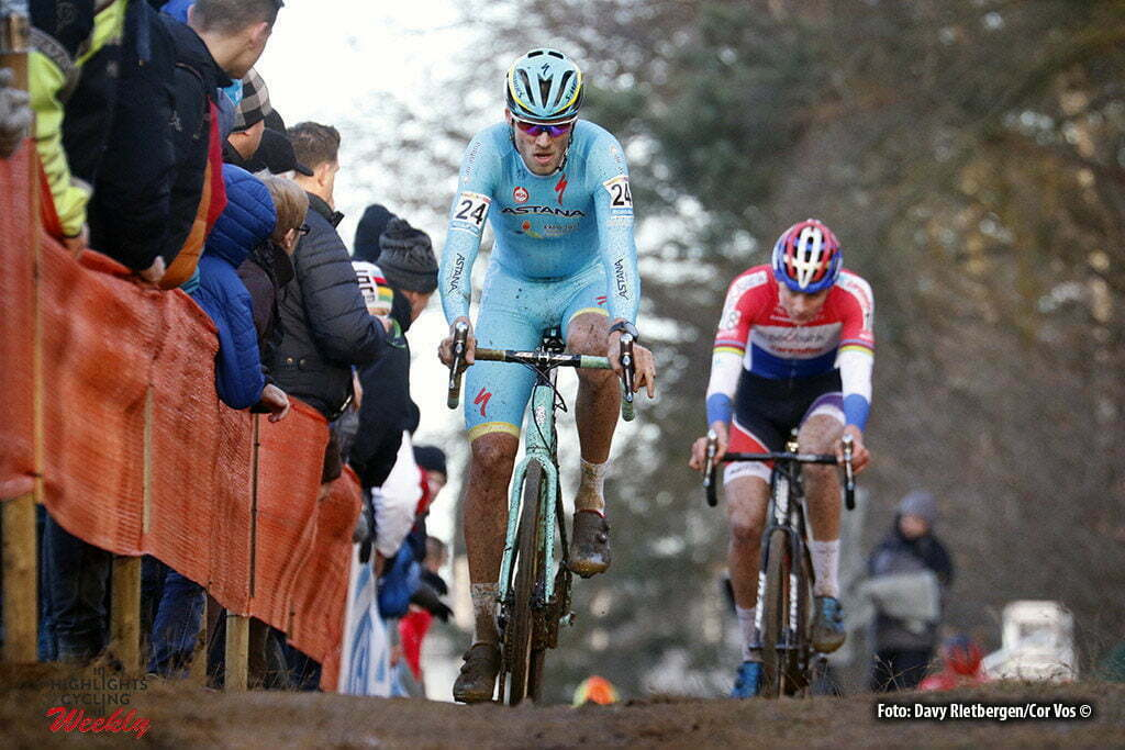 Heusden - Zolder - wielrennen - cycling - radsport - cyclisme - veldrijden - cyclocross - Lars Boom - Mathieu van der Poel pictured during Telenet UCI Cyclo-Cross World Cup for elite in Heusden - Zolder - photo Davy Rietbergen/Cor Vos © 2016