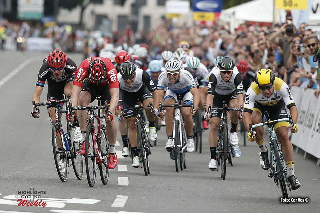 Koln - Germany - wielrennen - cycling - radsport - cyclisme - Dylan Groenewegen (Netherlands / Team LottoNL - Jumbo) pictured during Rund um Koln - photo HR/Cor Vos © 2016